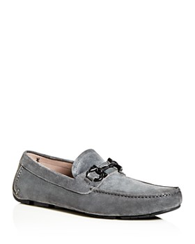 Salvatore Ferragamo - Men's Parigi Crosta Suede Moc-Toe Drivers