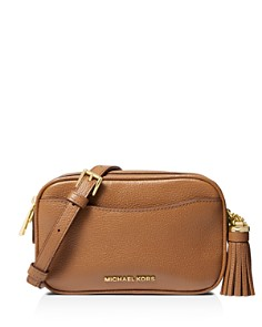 MICHAEL Michael Kors - Convertible Medium Leather Camera Belt Bag Crossbody