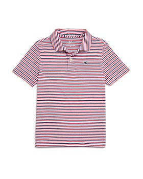 32be7a563 Vineyard Vines - Boys' Cationic Stripe Polo - Little Kid, Big Kid