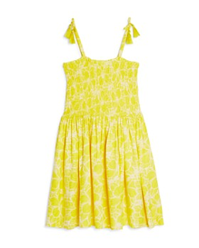 a07dda427c BCBGirls - Girls' Smocked Fit-and-Flare Dress - Big Kid ...