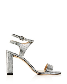 Jimmy Choo - Women's Marine Leather High-Heel Sandals - 100% Exclusive