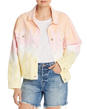 Sunset & Spring - Ombré Tie Dye Jacket - 100% Exclusive