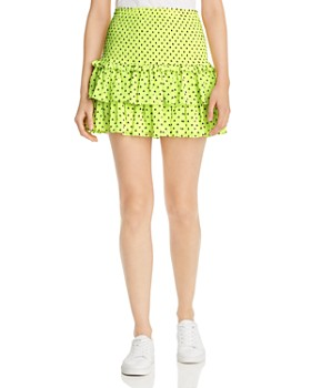 WAYF - Phelham Tiered Ruffle Mini Skirt