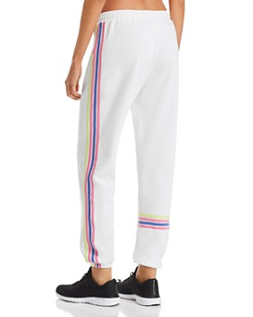AQUA - Striped-Trim French Terry Sweatpants - 100% Exclusive
