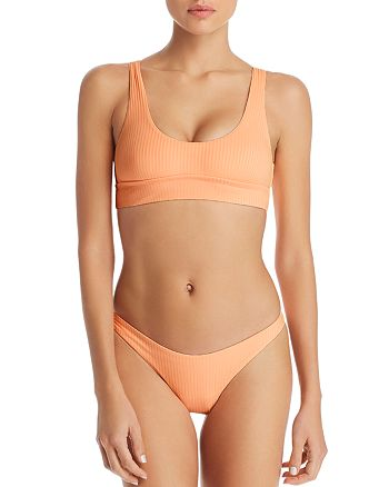 Vitamin A - Sienna Shelf-Bra Bikini Top & California High-Cut Bikini Bottom