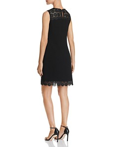 KARL LAGERFELD Paris - Lace-Trim Dress