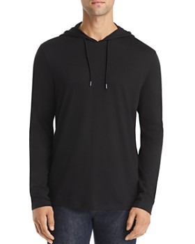 Michael Kors - Long-Sleeve Hooded Tee