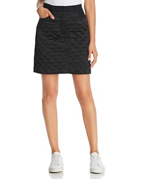 Escada Sport - Ralla Quilted-Front Denim Mini Skirt