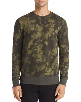 G-STAR RAW - Core Leaf-Print Sweatshirt