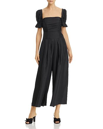 Fame and Partners - Gabrielle Ruched-Bodice Jumpsuit