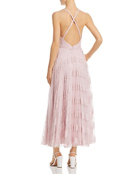 Laundry by Shelli Segal - Pleated Lace Gown