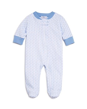Kissy Kissy - Boys' Dotted Zip Footie - Baby