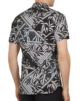 8cae4e9a4 ... Ted Baker - Anova Leaf Print Slim Fit Shirt