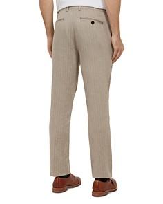 Ted Baker - Balrtro Herringbone Slim Fit Trousers