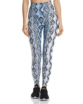 Beach Riot - High-Rise Snake Print Leggings