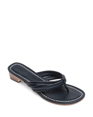 BERNARDO | Bernardo Women's Miami Leather Thong Sandals | Goxip