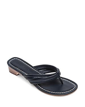 7f89bbe1b91 86. Bernardo - Women s Miami Leather Thong Sandals.
