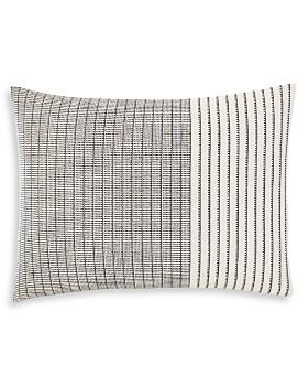 """ED Ellen Degeneres - Natural Shibori Stitching Throw Pillow, 15"""" x 20"""""""