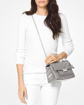 61275ee1090b ... MICHAEL Michael Kors - Cece Medium Leather Shoulder Bag