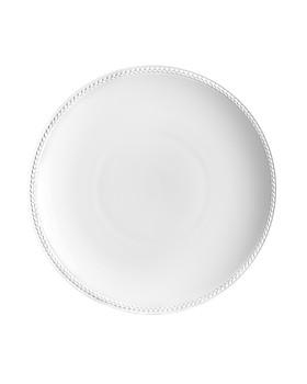 L'Objet - Soie Tressée White Soup Plate
