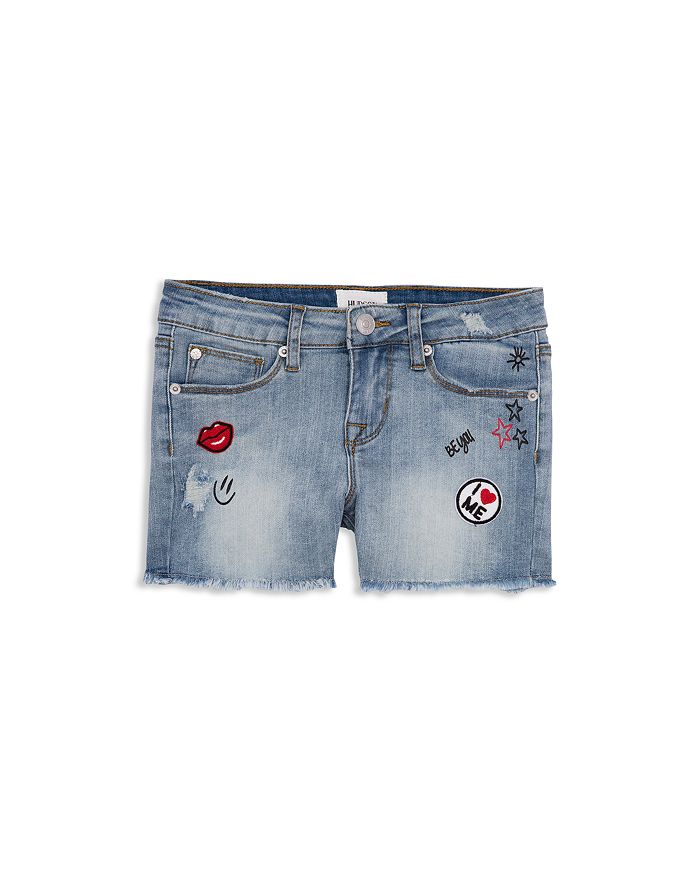 Hudson - Graphic Fearless Denim Shorts - Big Kid
