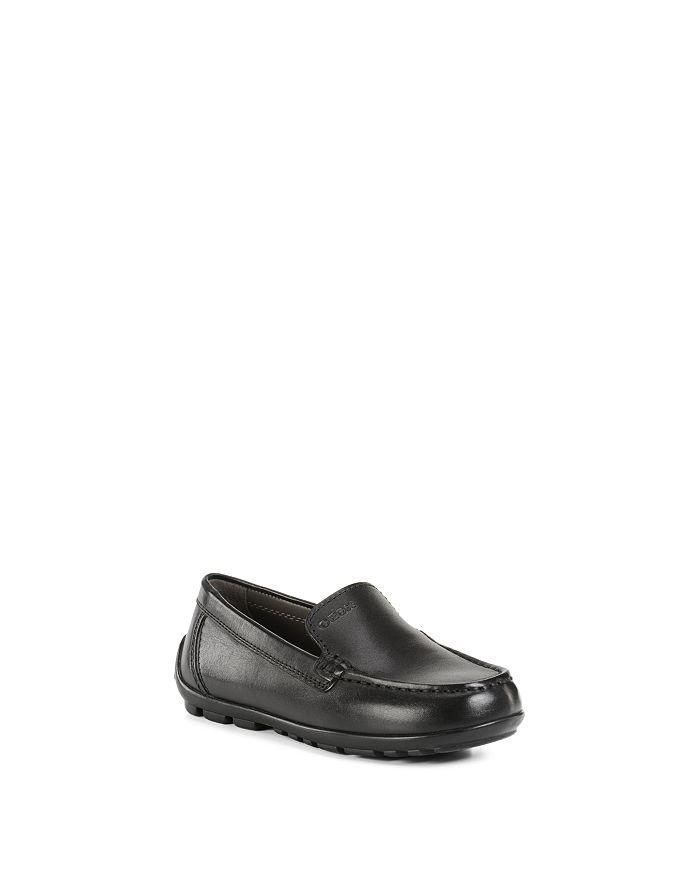 Geox - Boys' J New Fast Plain Leather Slip-Ons - Toddler, Little Kid, Big Kid