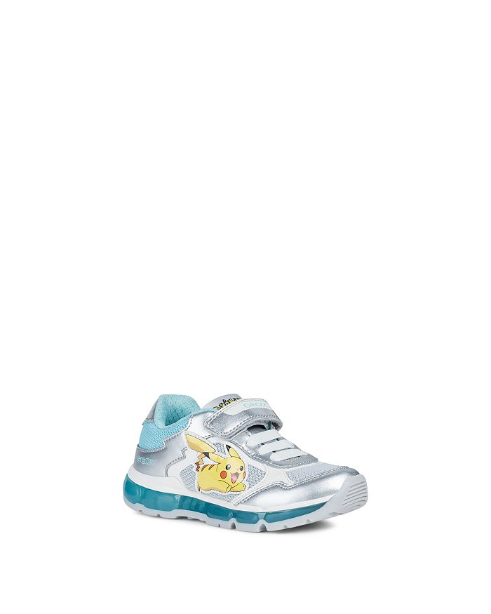 Geox - Girls' J Android Pokemon Sneakers - Toddler, Little Kid