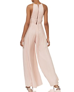 HALSTON HERITAGE - Wide-Leg Georgette Jumpsuit - 100% Exclusive
