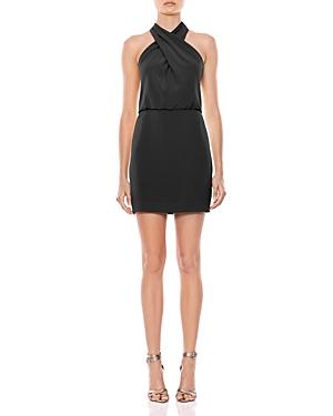 Halston Dresses CREPE MINI DRESS - 100% EXCLUSIVE