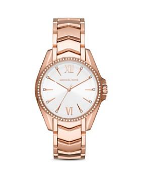 Michael Kors - Whitney Chevron Link Bracelet Watch, 38mm