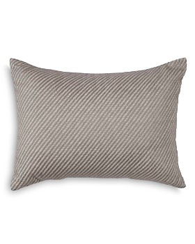 "ED Ellen Degeneres - Tulare Twill Embroidered Decorative Pillow, 12"" x 16"""