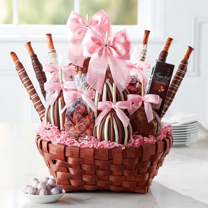 Mrs Prindables - Premium Spring Caramel Apple Gift Basket