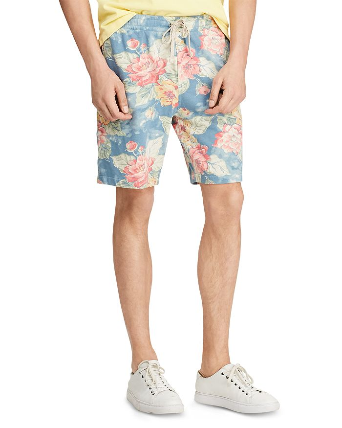 Polo Ralph Lauren - Floral-Print French Terry Drawstring Shorts