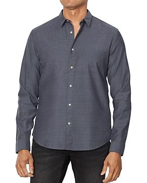 John Varvatos T-shirts CLEAN SNAP-FRONT REGULAR FIT OXFORD SHIRT