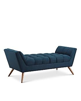Modway - Response Medium Upholstered Fabric Bench