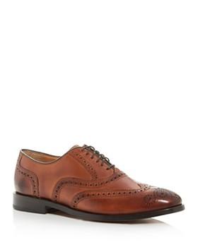 Cole Haan - Men's Kneeland Leather Wingtip Brogue Oxfords