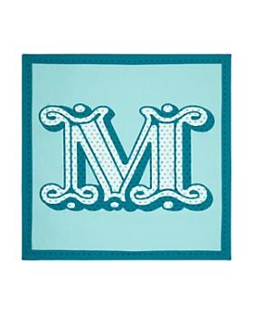 Max Mara - Logo Silk Scarf