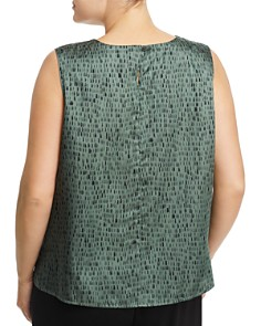 Eileen Fisher Plus - Sleeveless Printed Top