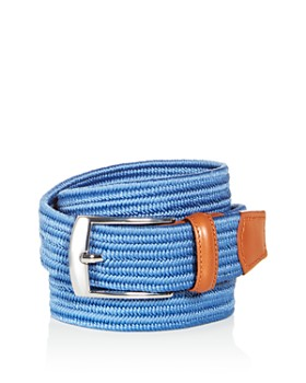 The Men's Store at Bloomingdale's - Men's Woven Stretch Belt - 100% Exclusive