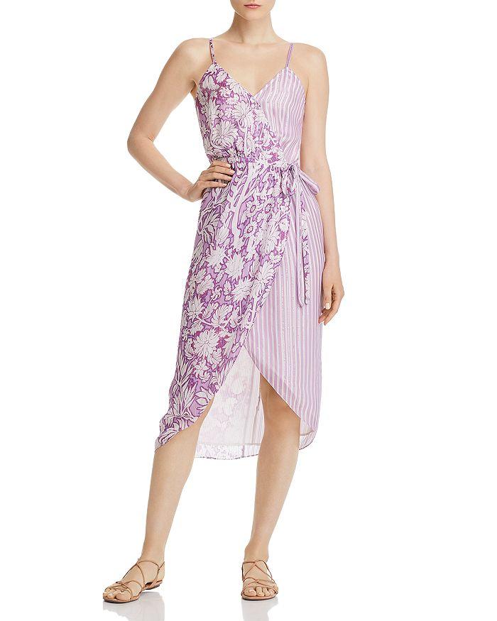 Hemant and Nandita - Printed Wrap Dress