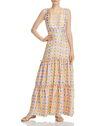 Paper London - Zoe Silk Maxi Dress