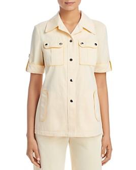 Tory Burch - Twill Safari Shirt