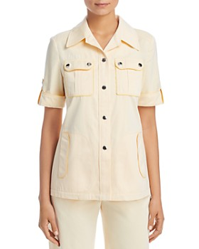 Tory Burch - Twill Safari Shirt