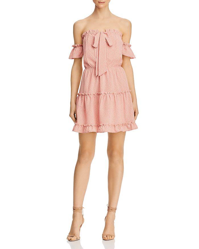 Sage the Label - Keep Her Wild Ruffled Printed Mini Dress