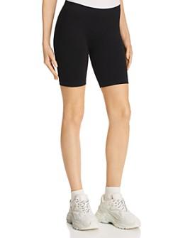 Free People - Rib-Knit Bike Shorts