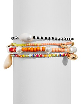 BAUBLEBAR - Summer Beaded Stretch Bracelets