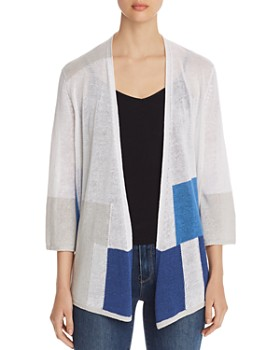 NIC and ZOE - Coast to Coast Color-Block Open Cardigan