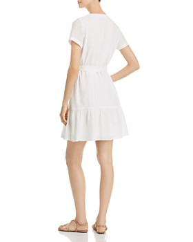 Vero Moda - Sammi Belted Button-Down A-Line Dress