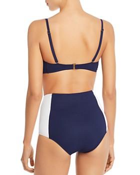 Tory Burch - Lipsi High-Waist Bikini Bottom