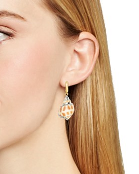 BAUBLEBAR - Kailua Shell Drop Earrings